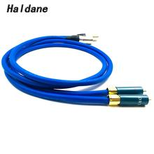Haldane Pair Ortfon-1 RCA to XLR Male to Male Balacned Audio Interconnect Cable XLR to RCA Cable with CARDAS Clear-Light-USA haldane pair wbt 0144 rca to xlr male to male balacned audio interconnect cable xlr to rca cable with cardas clear light usa