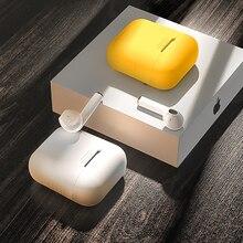 סיליקון מקרה עבור אפל Airpods עבור אוויר תרמילי מקרי Airpods Pro Bluetooth אוזניות עור כיסוי עבור אוזניות אבזרים