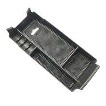 Caixa de armazenamento do apoio de braço do console central para a classe w177 w247 de mercedes-benz a glb