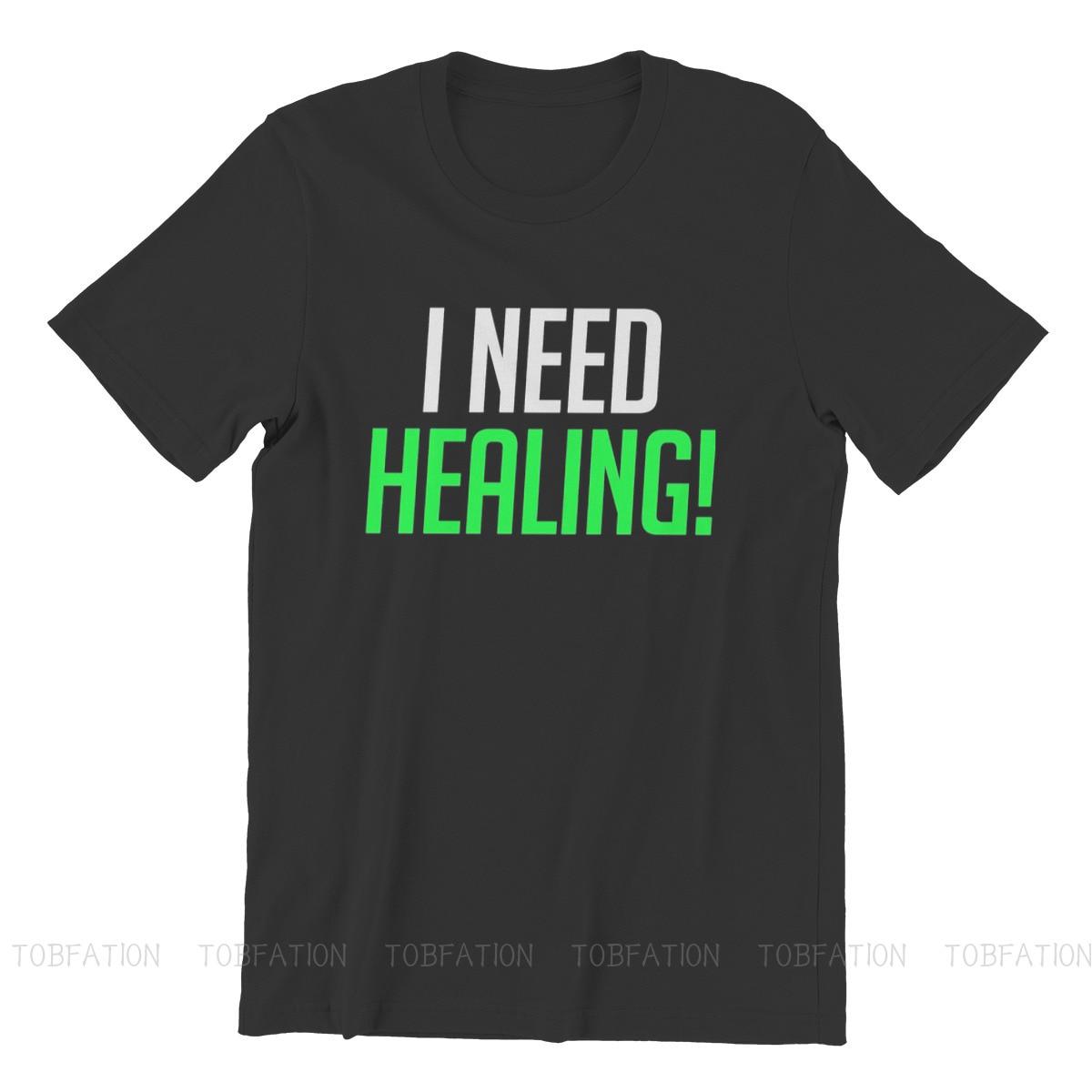 I Need Healing! Unique TShirt Overwatch Comfortable Hip Hop Gift Idea  T Shirt Short Sleeve Hot Sale 3