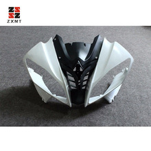 ZXMT Unpainted Front Upper Nose Cowl Fairing For Yamaha YZF-R6 2008-2016 YZF R6 09 10 UV light curing paint