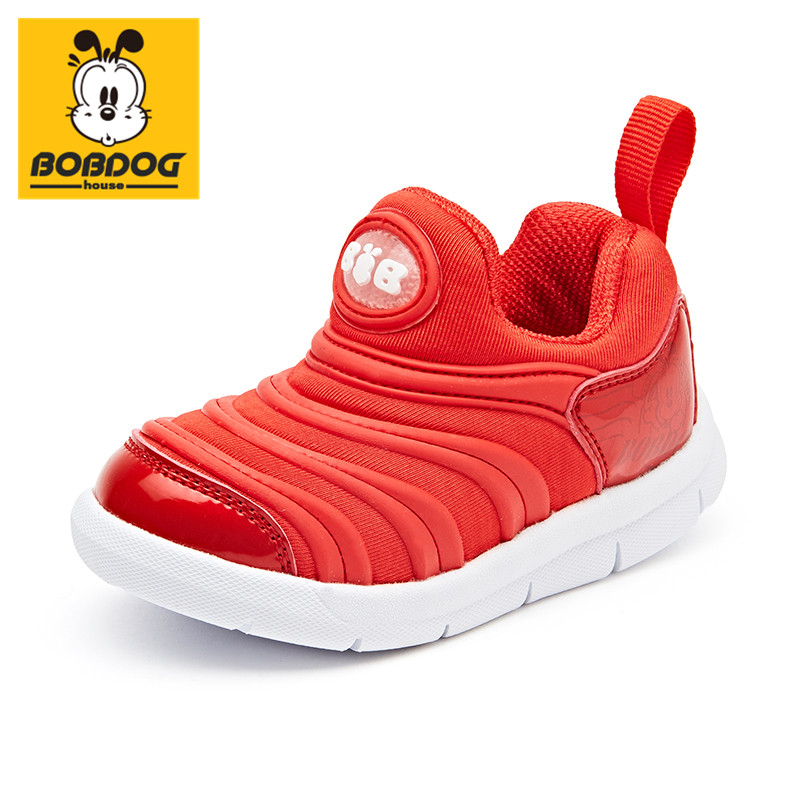 BOBDOG house baby shoes Korean fashion kids shoes breathable children's shoes 2740
