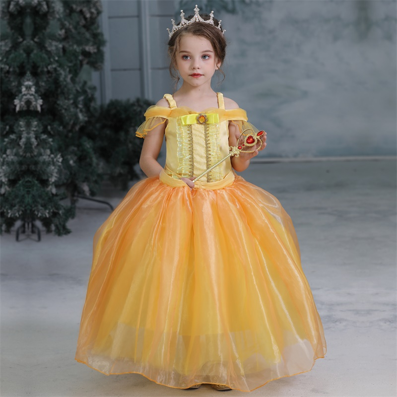 Fancy Girl Dress Cosplay Costume For Kids Dresses Princess Carnival Birthday Party Wear Baby Clothes Teens Chidren Clothing 7