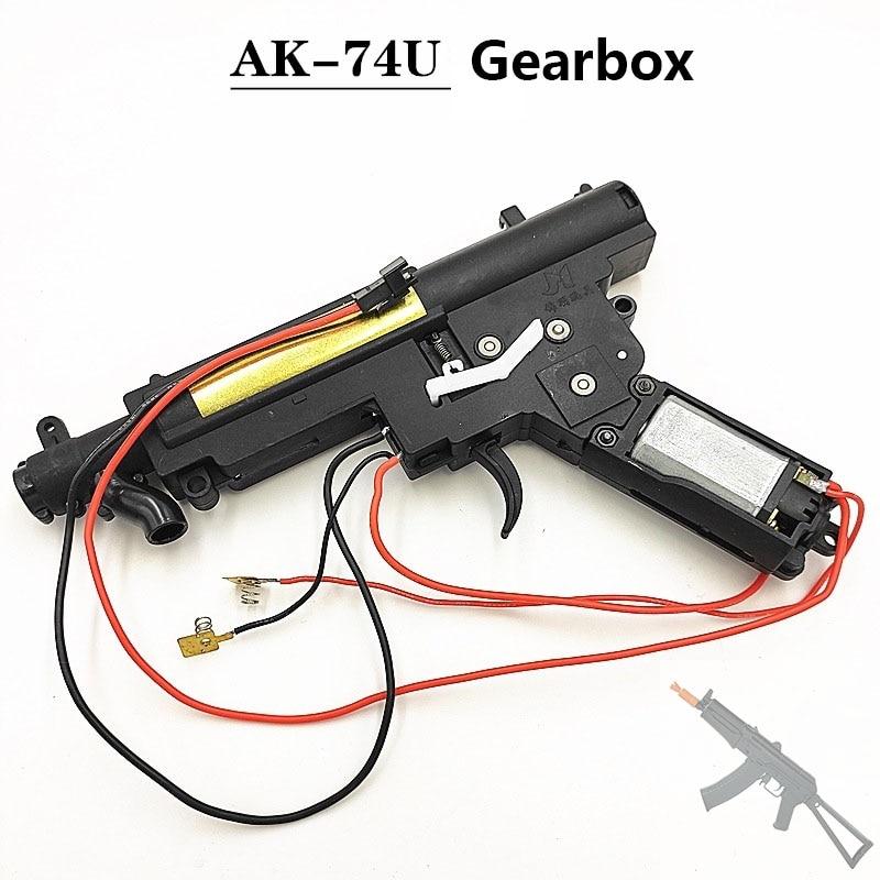 Original Jinming AK74U AKM Nylon Gearbox 12th Generation Powered Water Gel Blaster Gearbox J12 J11Toy Gun Accessories
