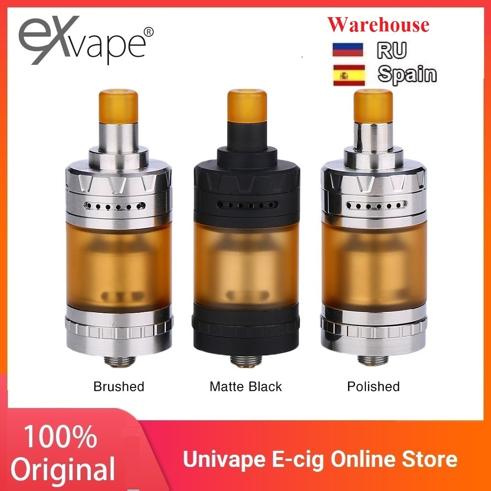 Original Exvape Expromizer V4 MTL RTA With Easy Single Coil Building & 23mm RTA Vape Vaporizer Vs Zeus X/ Dead Rabbit RTA/ Vinci