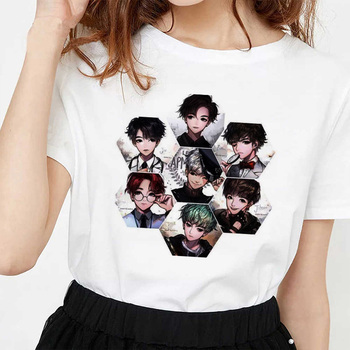 JIN SUGA J HOPE JIMIN V JUNGKOOK T Shirt Women Korean Style Bangtan Boys Cartoon Image Tshirt Female T-shirt Ulzzang Harajuku