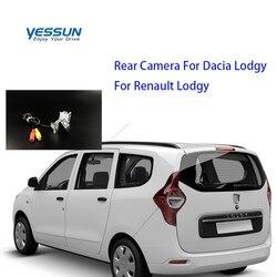 Yessun specjalny samochód widok z tyłu kamera cofania parking z tyłu dla Dacia LodgyFor Renault Lodgy w Kamery pojazdowe od Samochody i motocykle na