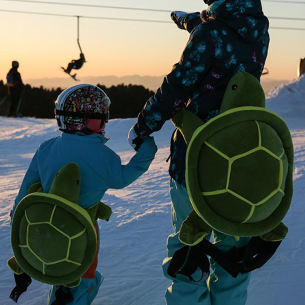 Outdoor Sports Ski Skate Snowboard Protection Skiing Protector Skating Protective Hip Padded Kids Adult Cute Turtle Cushion Pad