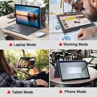 ultrabook עם 11.6 אינץ 2 Tablet ב 1 Tablet מחשב נייד עם מקלדת Ultrabook מסוג C MT6797 X20 10 ליבות Android 8.1 1920 * 1080 128GB ROM (2)