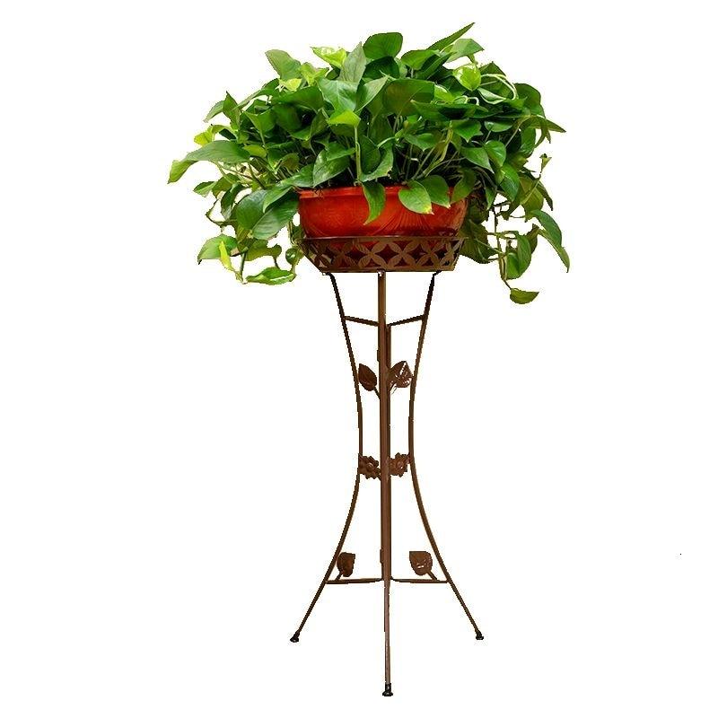 Indoor  Household Multi-storey Landing Type Flowerpot Frame Flower Basket Frame Thickening Paragraph