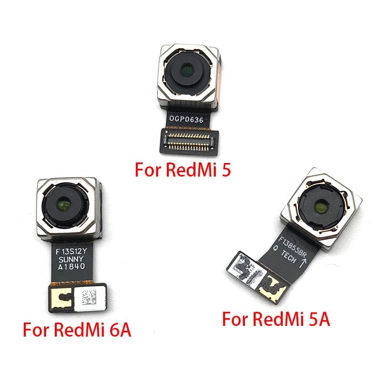 New Back Camera For Xiaomi Redmi 5 5A 6A Rear Back Camera Module Flex Cable Replacement Parts