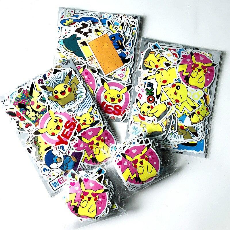 80pcs-font-b-pokemon-b-font-stickers-classic-toys-pet-elf-pork-dream-pocket-monster-cartoon-notebook-pull-rod-truck-sticker