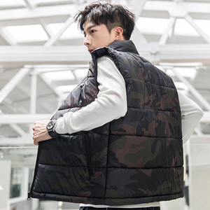 Image 3 - camouflage Vest Men Waistcoat Mens Winter Sleeveless Jacket Man Atumn Windbreak Casual Vests Slim Fit Brand Clothing XS 6XL 9997