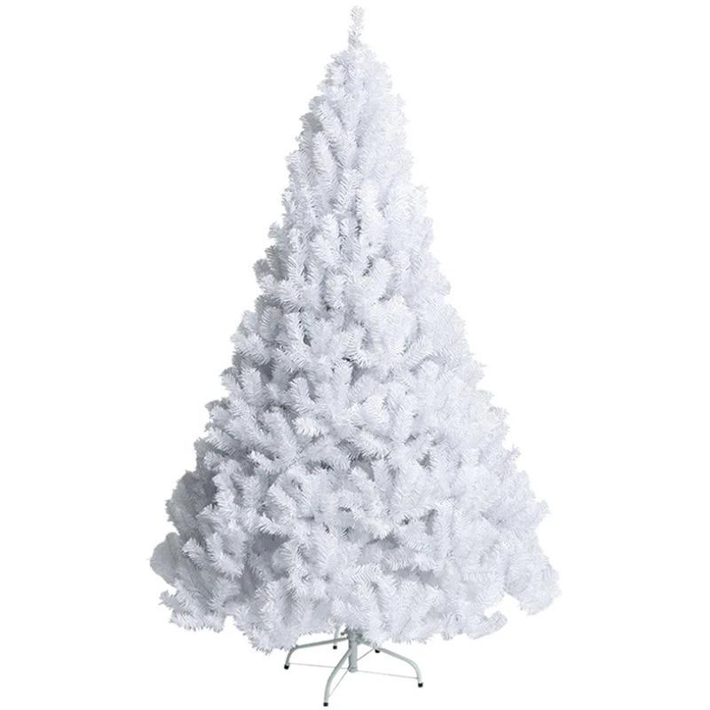 Sapin De Noel blanc Imperial Artificiel Support En Métale 1.5M Decoration Arbre