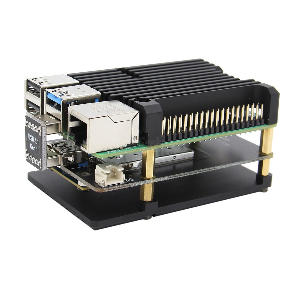 Image 5 - Raspberry Pi 4 mSATA SSD Storage Expansion Board X857 USB3.1 Shield for Raspberry Pi 4BDemo Board
