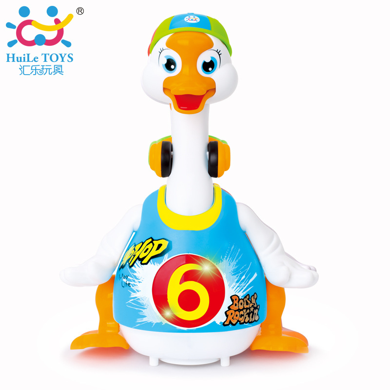 Department Of Music 828C Sway Goose Rechargeable Version Infants Children Learn To Climb Talking Singing Dancing Duck Education