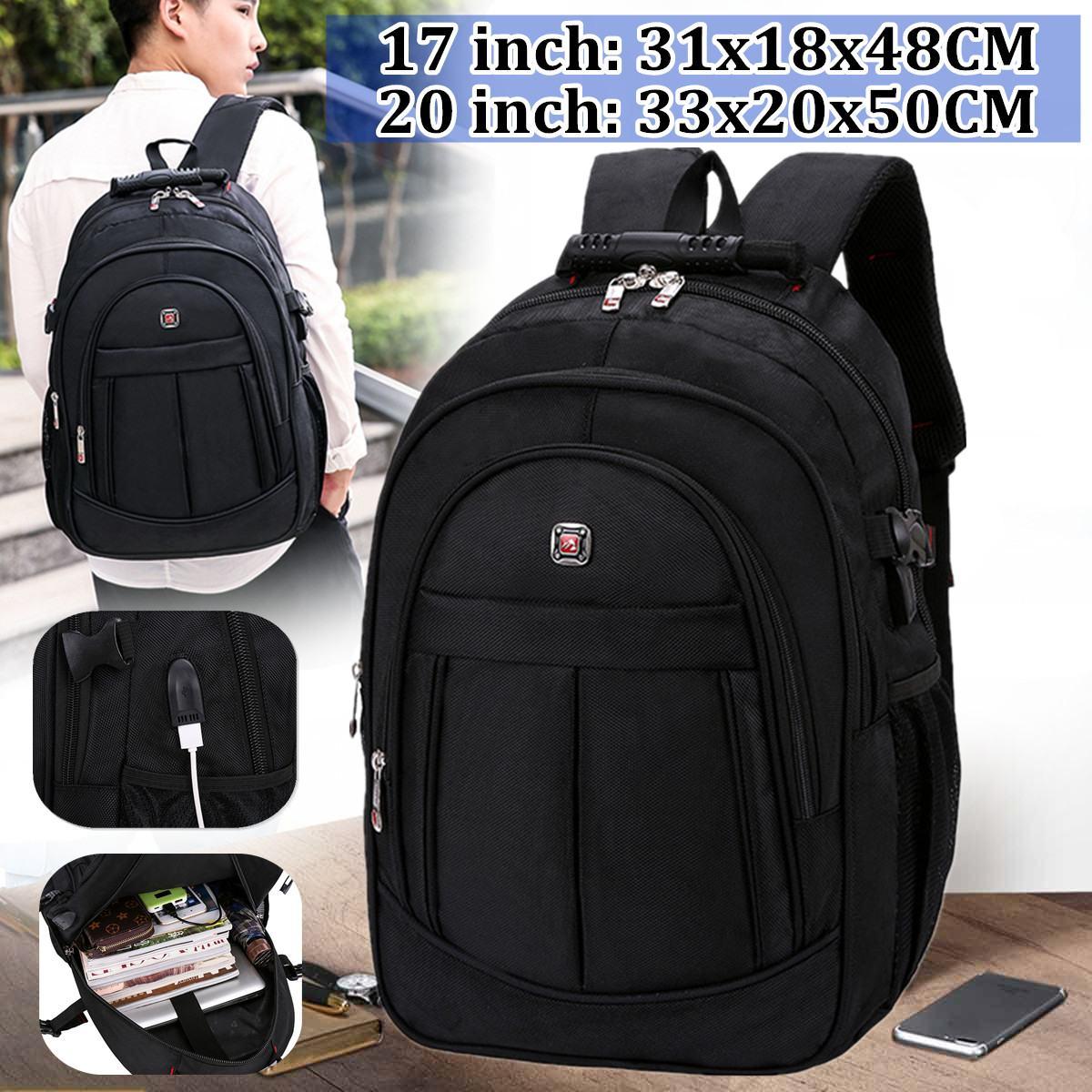 2020 New Fashion 17.3inch Laptop Backpack Men Multifunctional Waterproof Backpacks Male USB Charging Travel Backpack Mochila