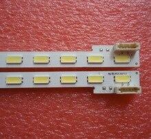 2 peças/lote PARA Sony KDL 46HX750 LCD backlight tira LJ64 03363B SLED2012SLS46 7030 44 44LED 508 MILÍMETROS