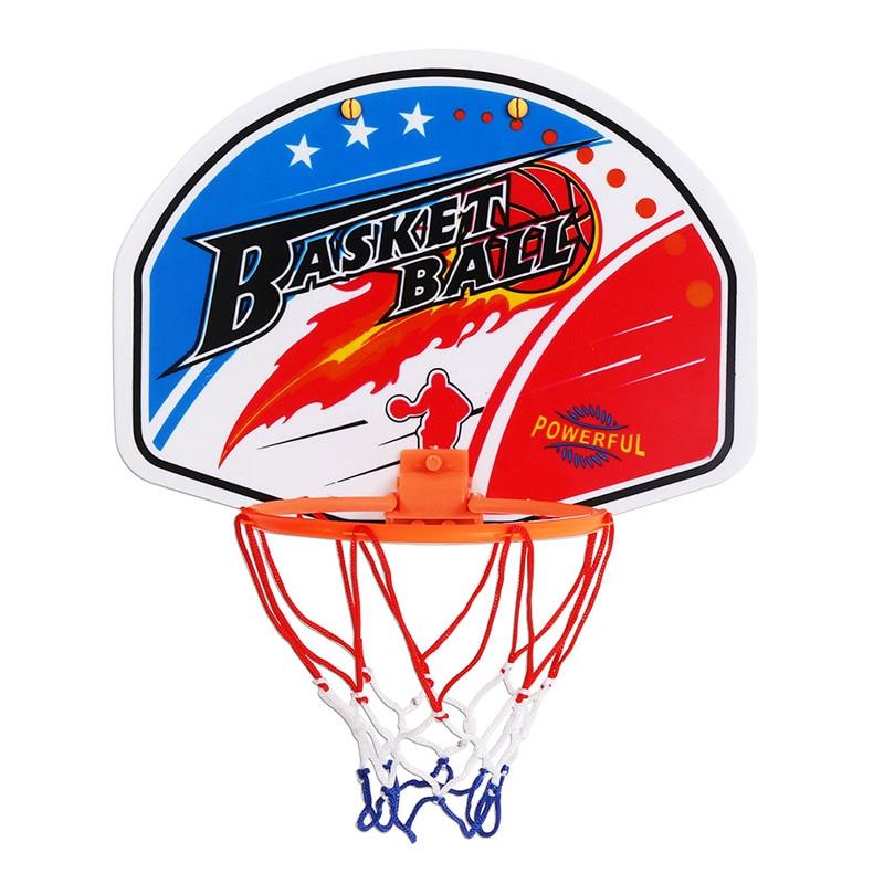 Пластиковая баскетбольная игрушка-обруч, 27*21 см