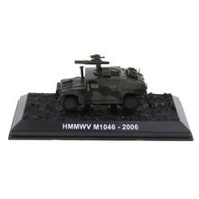 Figuras del ejército Humvee tanque, modelo de vehículo ATGM, juguete para regalo para niños, 1:72