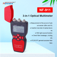 Noyafa NF 911 visual fault detector optical multimeter optical power meter with red light function fault locator