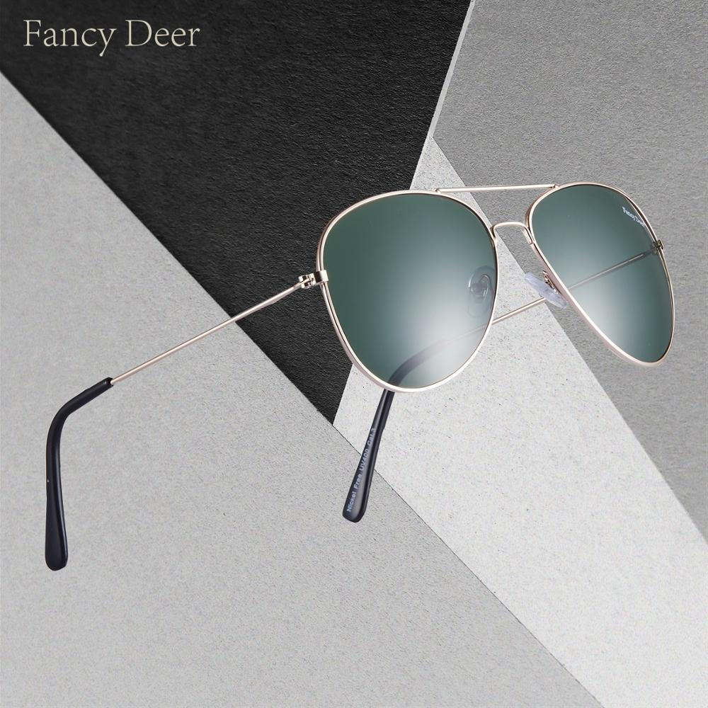 Fancy Deer Polarized Sunglasses Men Women Brand Design Eye Sun Glasses  Classic Men Sunglasses Oculos De Sol UV400