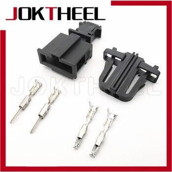 1-20 комплектов комплект 2 pin фонарь освещения номерного знака автомобиля двери разъем Подсветка багажника Рог Сенсор разъем для VW Audi Skoda OCTAVIA III 3B0972712 3B0972702