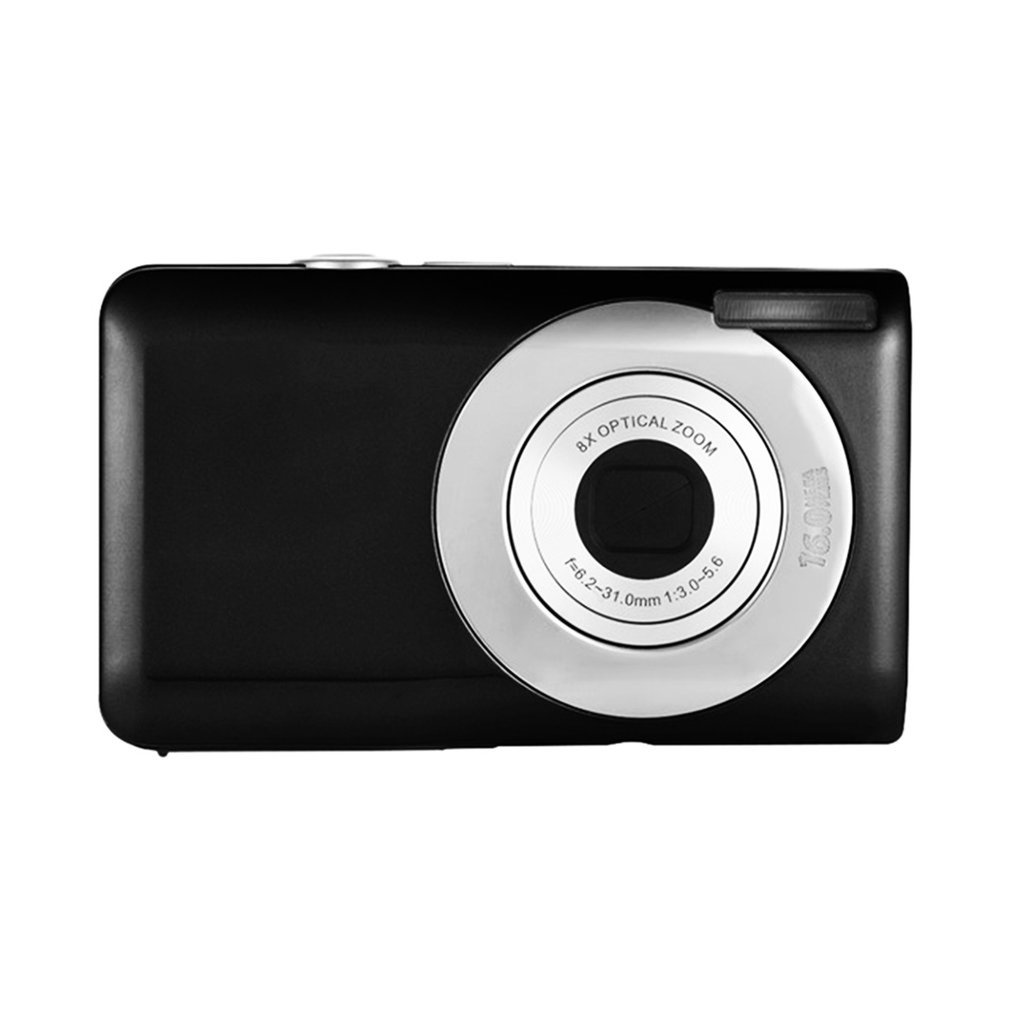 8x optical zoom Ultra-thin 18 MP Hd Digital Camera Children's Camera Video Camera Digital Students Cameras Birthday Best Gift image
