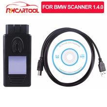 Herramienta de diagnóstico OBD2 para BMW, escáner automotriz con desbloquear USB, versión de diagnóstico de coche