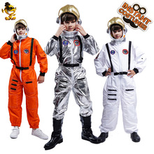 Astronaut-Costume Helmet Role-Playing Jumsuit Unisex For Girl with Kids Birthday-Gift