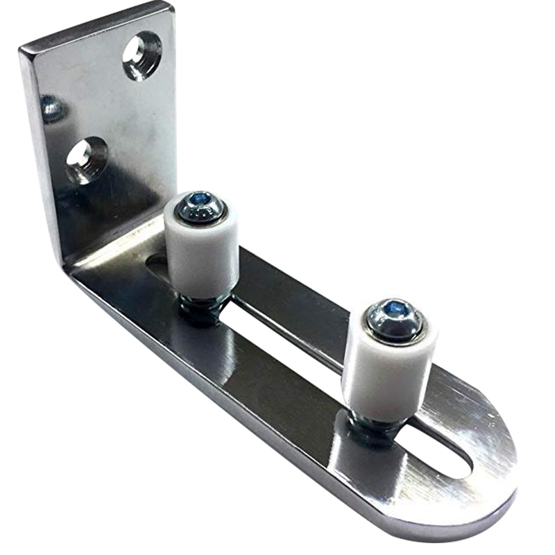 Floor Guide for Bottom Of Sliding Barn Doors Adjustable Wall Mount Stay Roller Guide Ball Bearings|Linear Guides| |  - title=