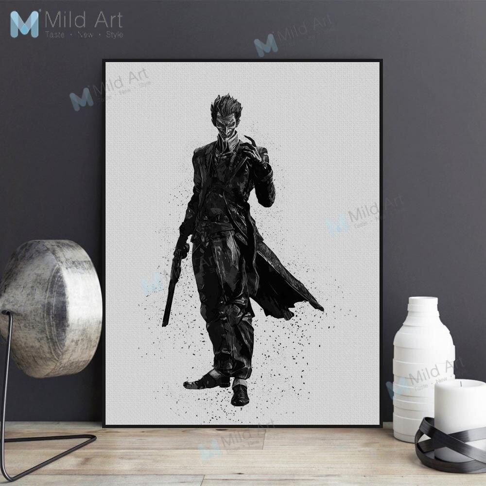 JOKER Face A4 Poster  Wall QUOTE Best Movies Batman The Dark Knight Print Design