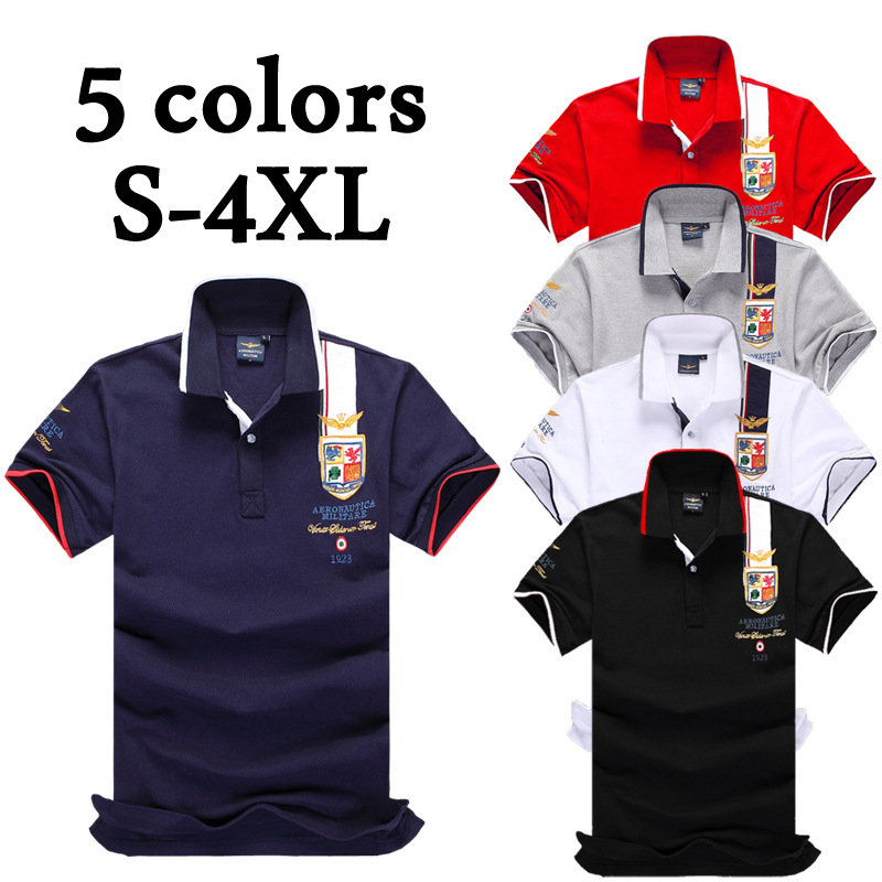 Mens Golf Shirts  Shirt Men's Polo Shirts Men's Lapel T-shirts Air Force One Is Selling Hot Style Camisas Hombre De Ejercicios