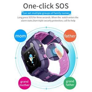 Image 2 - AllCall W58 Kids Smart Watch GPS Tracker 4G SIM Card Video Call with Light Camera SOS IP67 Waterproof Smartwatch For Girls Boys