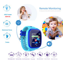 DF25 Children GPS Smart Watch Baby Watch IP67 Waterproof SOS Call Location Device Tracker Kids Safe Anti-Lost Monitor Clock(China)