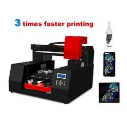 Veloce Velocità di Stampante UV 3060 A3 flatbed macchina da stampa con Epson DX9 Testina di Stampa per la cassa del telefono/Pelle/TPU/ABS/Carta/Borad