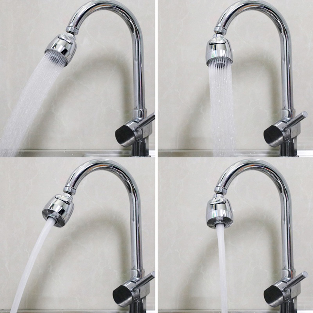 360° Rotatable Bent Water Saving Tap Aerator Diffuser Faucet Nozzle Filter Water Swivel Head Kitchen Faucet Adapter Bubbler|Aerators| - AliExpress