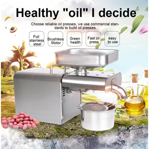 Image 3 - YTK Oil Press Automatic Household FLaxseed Oil Extractor Peanut Oil Press Cold Press Oil Machine 1500W