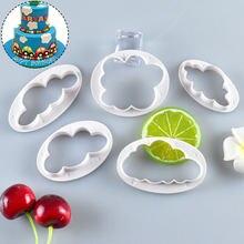 5 sztuk/zestaw kształt chmury foremka do ciasteczek foremka do wykrawania ciasteczek 3D drukowane na zamówienie kremówka Cookie Mold na ciasto narzędzie dekoracyjne naczynia kuchenne
