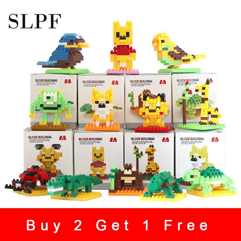 Building Blocks Compatible With Legoing Educational Toys For Children Diy Kids Animal Robot Assembly Model Set Brick лего N07