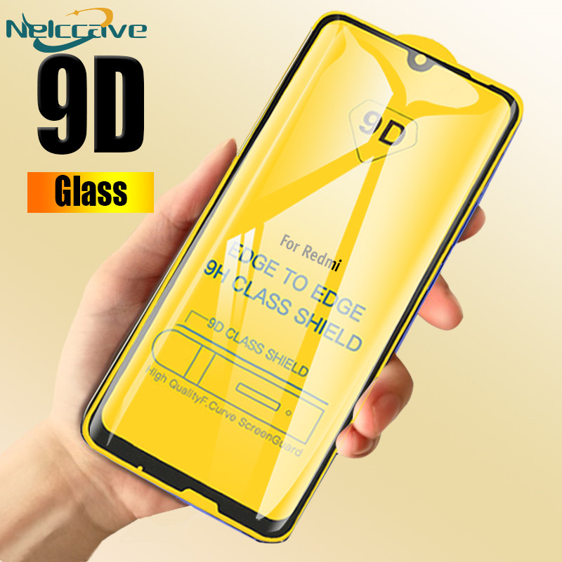 10 Pieces <font><b>9D</b></font> Curved Full Coverage 9H Tempered Glass For <font><b>Xiaomi</b></font> <font><b>Redmi</b></font> Note 8 7 Pro 6 5 5A 4 <font><b>4X</b></font> Screen Protector Protective Film image