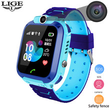 Kid Smart watch for Children LBS waterproof SmartWatch Baby Watch SOS Call Location Finder Locator Tracker Anti Lost Monitor(China)