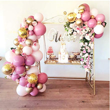 Balloon Garland Arch Kit 101PCS Pink and Gold Balloons for Parties Birthday Wedding Party Baby Shower Decorations for Girl Boy