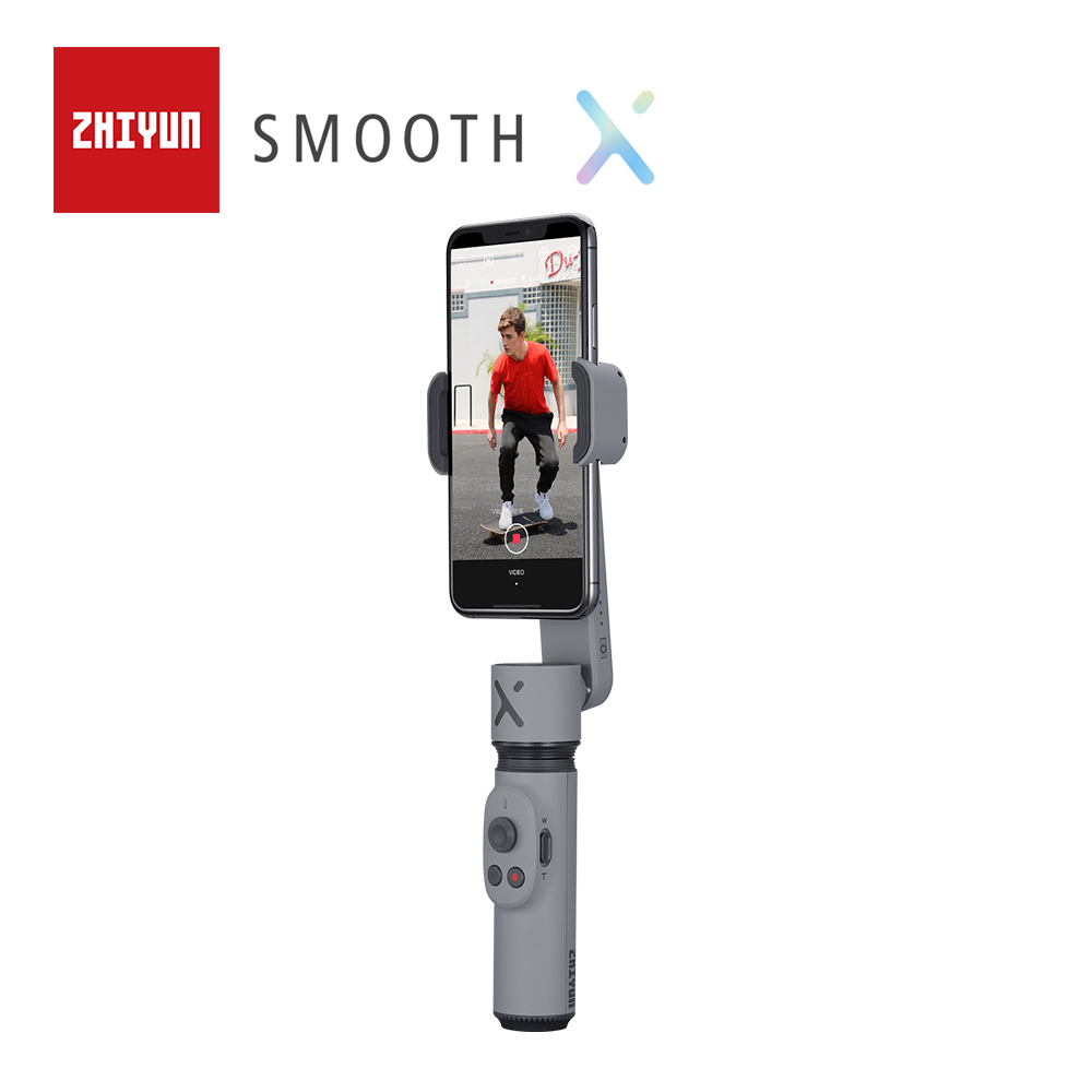 ZHIYUN Official SMOOTH X Gimbal Palo Selfie Stick  Phone Monopod Handheld Stabilizer For Smartphone IPhone Redmi Huawei Samsung