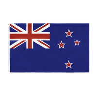 Bandeira da nova zelândia flaglink 3x5fts 90*150cm nz nzl