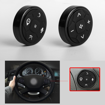 10 Keys Car Steering Wheel Controller Buttons For Music DVD GPS Navigation Wireless Steering Wheel Radio Remote Control Button for hyundai ix25 creta 1 6l steering wheel cruise control buttons remote control volume channel bluetooth phone button