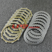 Clutch Plate Discs For Honda XL700V Transalp 08-09 XRV650 J/K Africa Twin 88-89 VT750 Shadow ACE Deluxe Spirit Aero 97-09