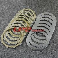 Clutch Plate Discs For Honda NT650 J/K/L Hawk GT Bros 88 92 NT650V 98 05 NT700V Deauville 06 09 NTV600 J/K/M Revere 88 91