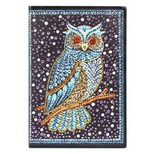 DIY Bird Special Shaped Diamond Painting 60 Pages A5 Notebook Diary Book