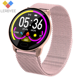 Image 1 - Lerbyee K9 Smart Bracelet Heart Rate Monitor Waterproof Fitness Tracker Color Screen Sport Activity Tracker for iPhone xiaomi
